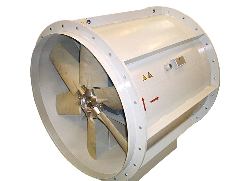 Axial fan from BarkerBille