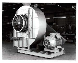 Gammel centrifugalventilator