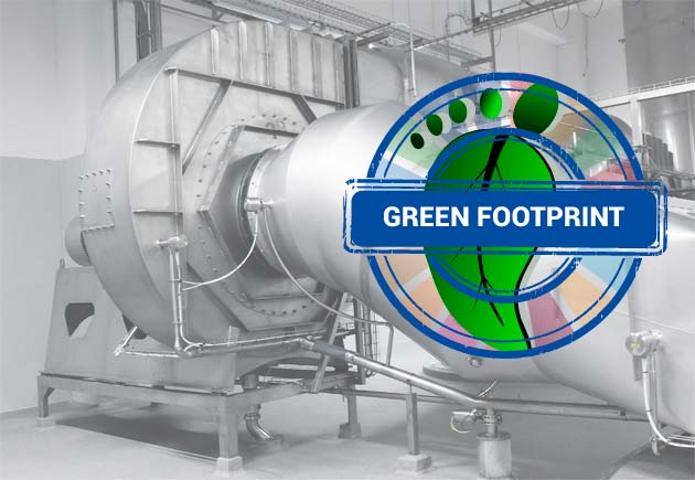 Green Footprint fan